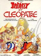 Asterix and cleopatra french poster