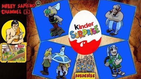 Asterix and the Romans 2003 💢 KINDER SURPRISE EU COLLECTION BELGIAN BPZ Asterix und die Römer