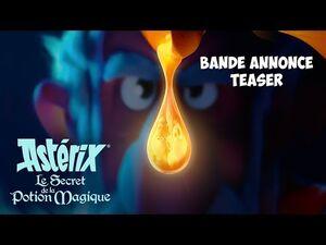 ASTÉRIX - LE SECRET DE LA POTION MAGIQUE -- Bande-annonce teaser