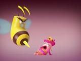Damsel in Bee-Stress