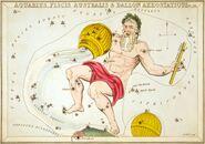 Sidney Hall - Urania's Mirror - Aquarius, Piscis Australis & Ballon Aerostatique