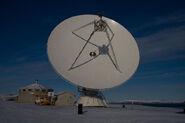 20m radio telescope Ny-Ålesund