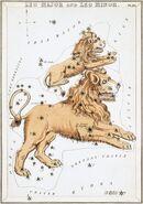 Sidney Hall - Urania's Mirror - Leo Major and Leo Minor