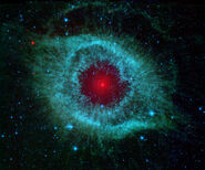 Comets Kick up Dust in Helix Nebula (PIA09178)
