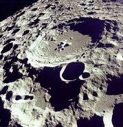 Moon Dedal crater