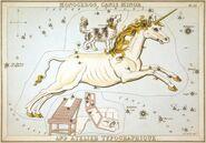 Sidney Hall - Urania's Mirror - Monoceros, Canis Minor, and Atelier Typographique