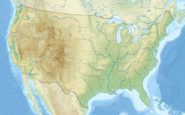 Usa edcp relief location map