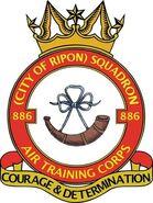 886 Squadron crest