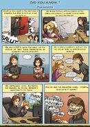 Comic strip about tigrounette by meli