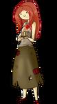 Flame princess human by rumay chian-d5lk702