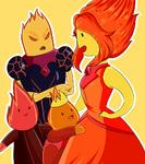 Flame siblings by rumay chian-d6ef7er