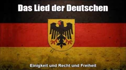 German National Anthem (Deutschlandlied) - Nightcore Style With Lyrics