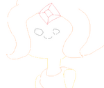 Antsy Art Drawing of Flame Princess