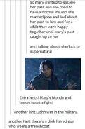 Am i talking about supernatural or sherlock