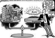 Creationism-evolution