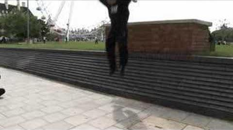 Learn Freerunning and Parkour - Landing From A Drop