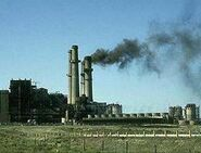 Crude oil-fired power plant