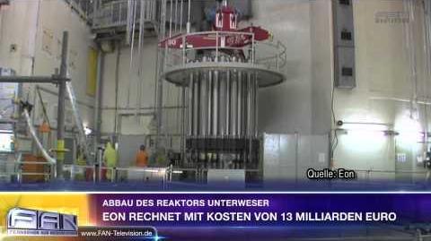 FAN Aktuell - Abbau des Reaktors Unterweser