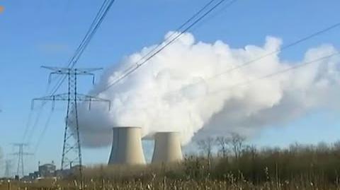 Drohnen Flüge über Atomkraft-Werken