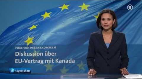 CETA - Verhandlungen zwischen der EU und Kanada (ARD 13.08.2014)