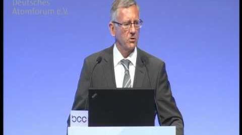 Dr. Ralf Güldner auf der Jahrestagung Kerntechnik 2011 (Teil 1 von 3)