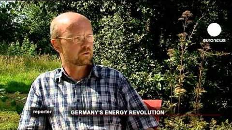 Euronews reporter - Deutschlands Energiewende