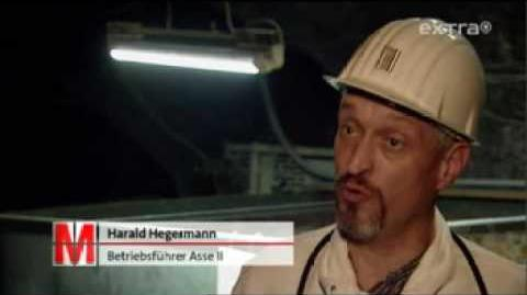Asse, Pilotprojekt zum geplanten Endlager Gorleben säuft ab
