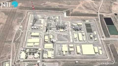 Arak Nuclear Complex - Iran