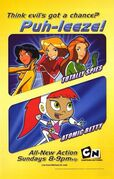 Cartoon network totally spies and atomic betty ad by brandon3031 ddaatsf