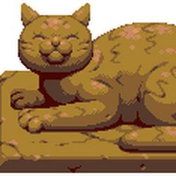 Big Cat Statue