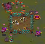 Large animal pen camp