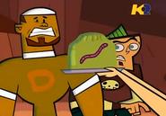TDI DJ spaventato da serpe-vermetto gommoso