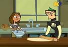 TDI Courtney e Duncan lavorano in cucina
