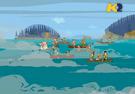 TDI Concorrenti incontrano nebbia Isola dei Teschi