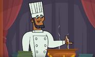 Lo chef del ristorante nel deserto