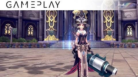 Showcase Aura Kingdom Grenadier Duelist (Cannon Dual Blades) - Skills & Combo Gameplay
