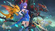 Azure Dragon Wallpaper 1