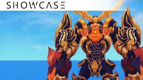 Showcase Aura Kingdom Eidolons - Gigas' Combo Skill