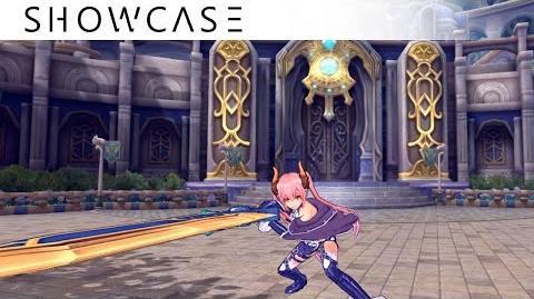 Showcase Aura Kingdom Crusader Grenadier (Great Sword Cannon) - Skills & Combo Gameplay
