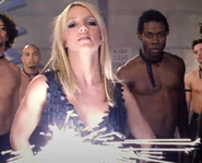 Britney Spears gun illumination hot