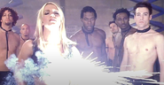 Britney Spears gun illumination far away