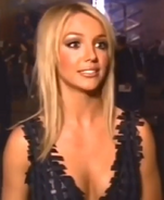 Britney Spears behind the scenes