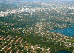 Aerial view of Longueville, Riverview, St Leonards, Sydney 2009-03-06.jpg