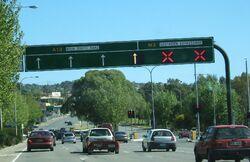 Southern expressway entrance, bedford pk.jpg