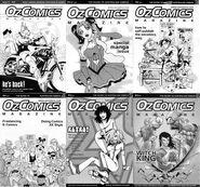 OzComics covers