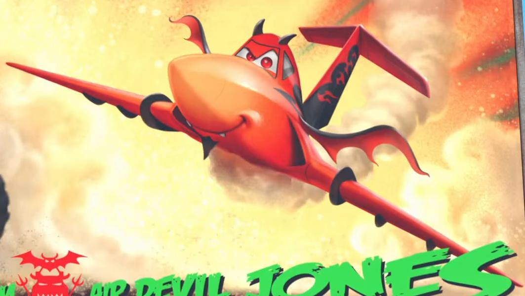 Air Devil Jones