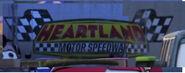 Heatland Motor Speedway Logo