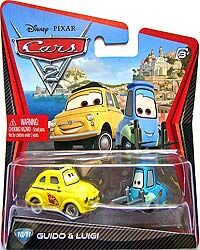Race team luigi cars 2 single