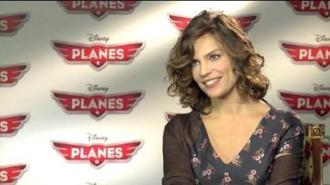 Video intervista a Micaela Ramazzotti voce italiana di Azzurra in Planes
