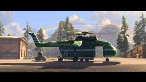 Samoloty 2 - Uwaga alarm!